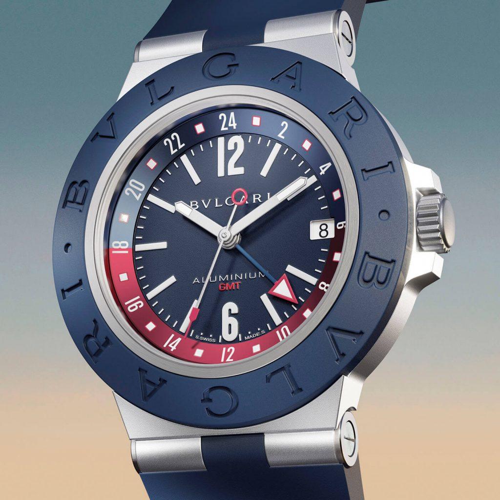 Bulgari Aluminium GMT 2 3