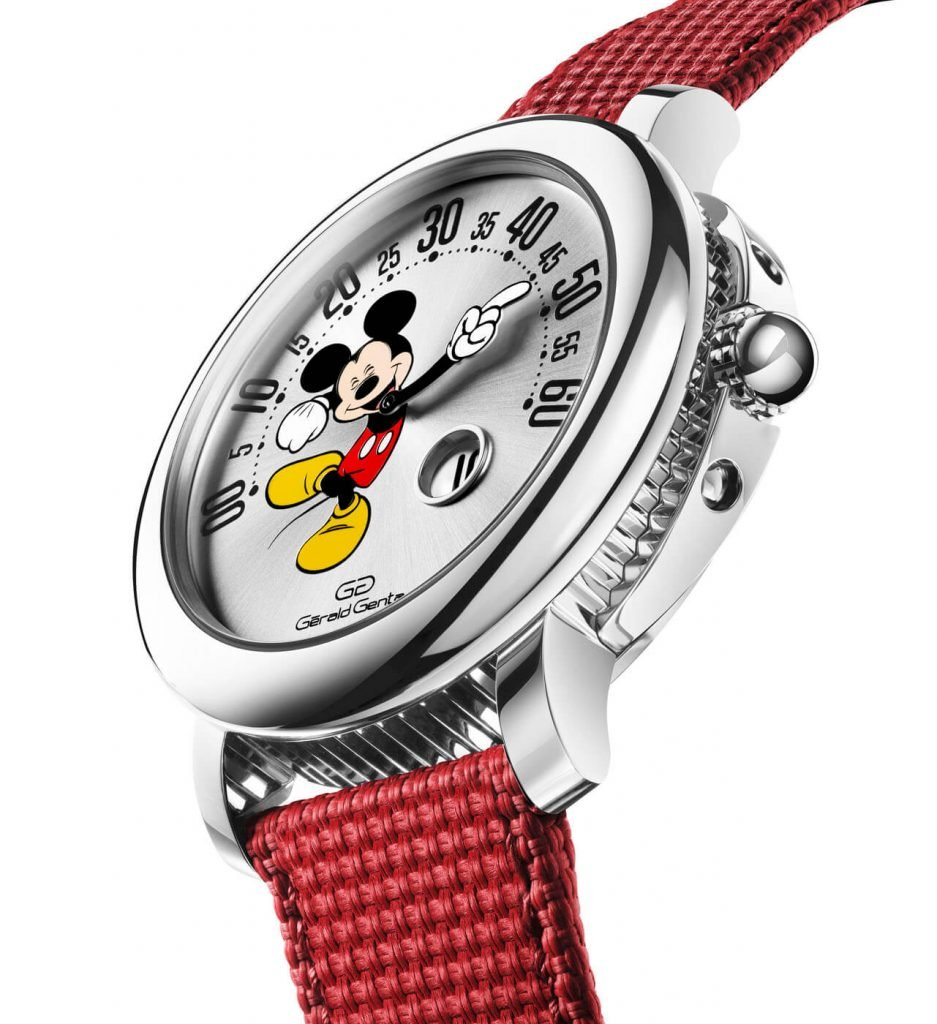 Gerald Genta Mickey Mouse Geneva Watch Days 3