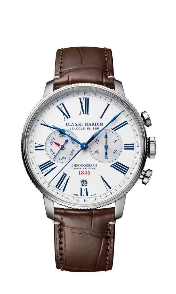 Ulysse Nardin Marine Torpilleur Chronograph 1