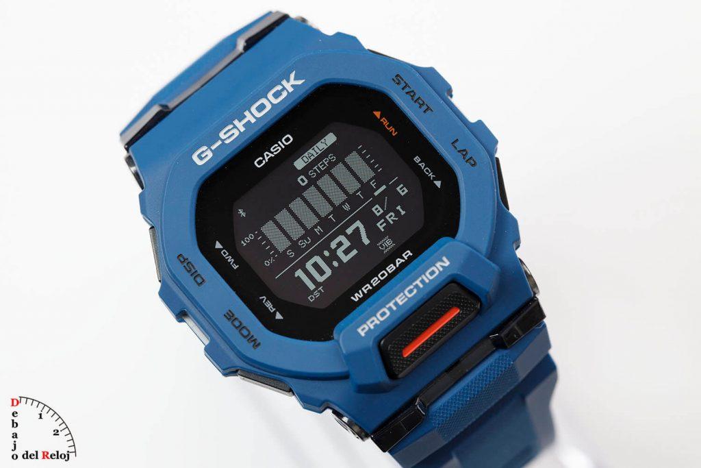 G-Shock G-Squad Gbd-200 En el Estudio 17