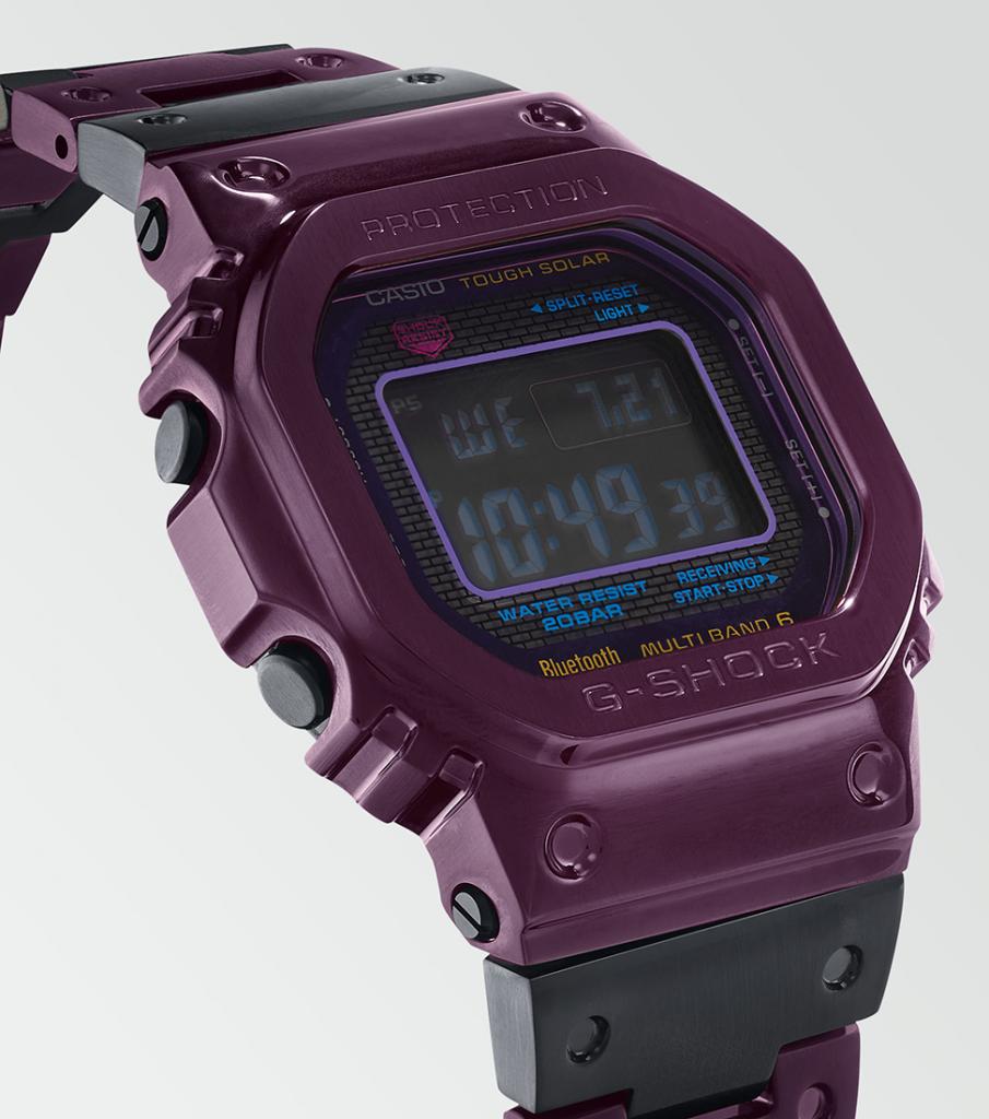 G-Shock GMW-B5000 Purple And Blue 2