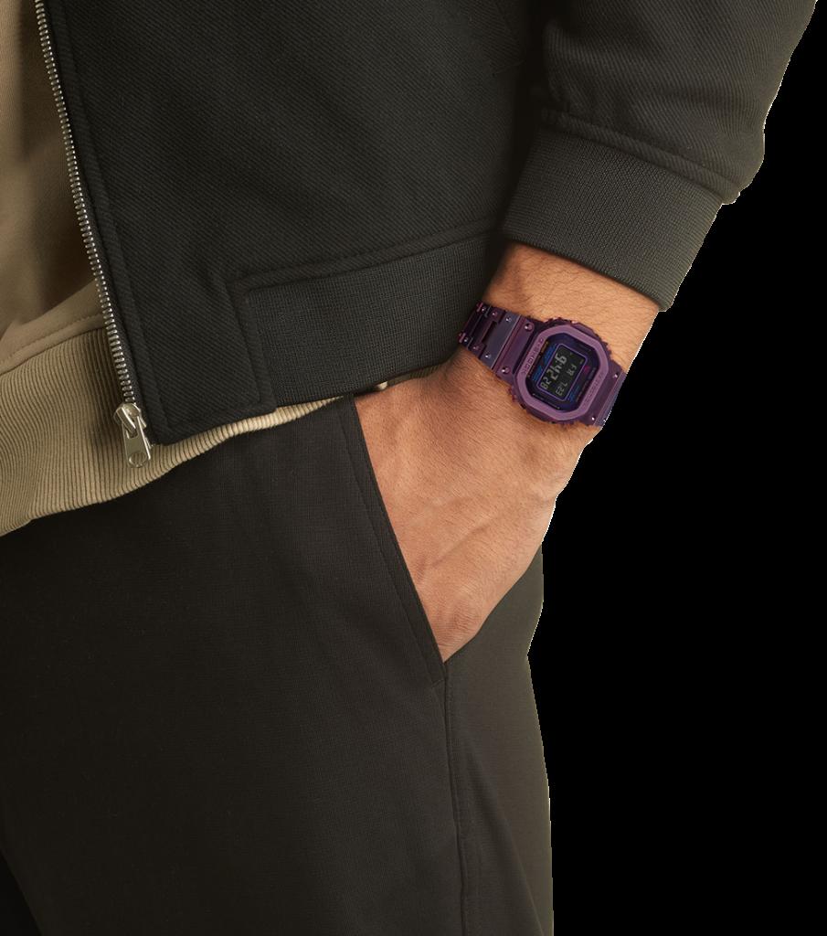 G-Shock GMW-B5000 Purple And Blue 4