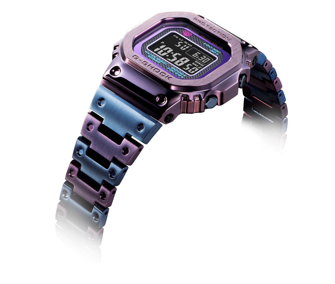 G-Shock GMW-B5000 Purple And Blue 3
