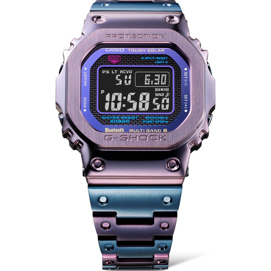 G-Shock GMW-B5000 Purple And Blue 1
