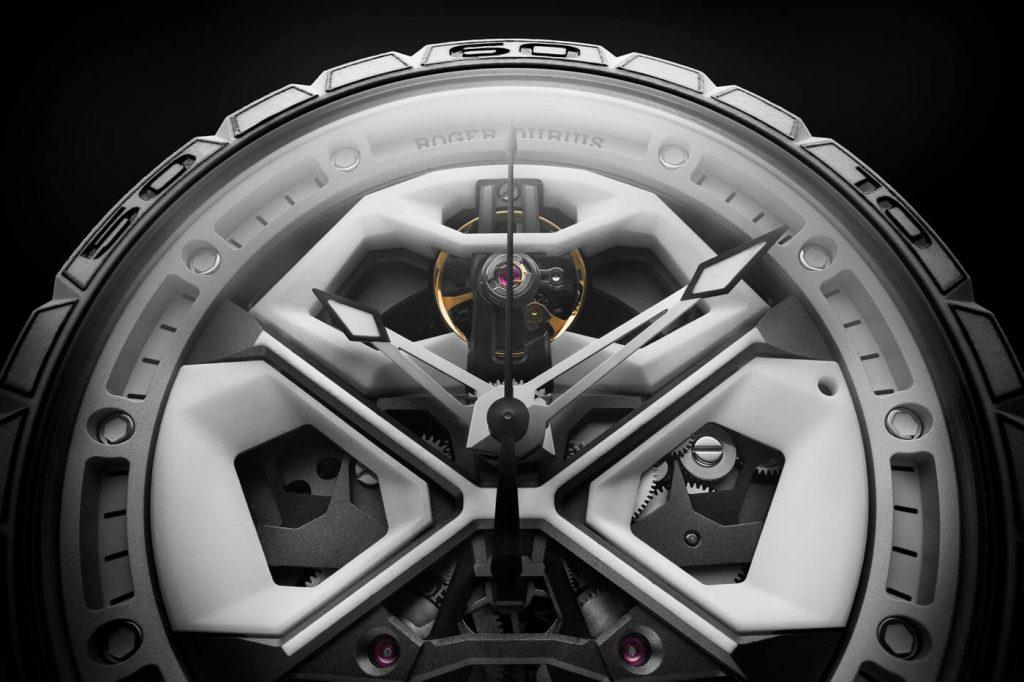 Roger Dubuis Excalibur Spider Huracán White Ceramic 5