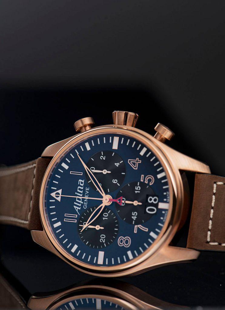 Frederique Constant Startimer Pilot Quartz Chronograph Big Date lado 2