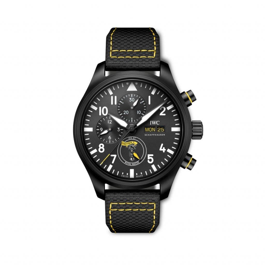 iwC Relojes de Aviador Cronógrafo Royal Maces, Tophatters y Blue Angels IW389107_FRONT