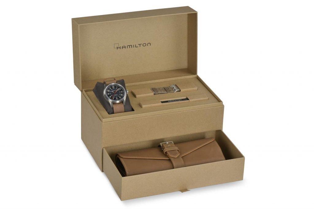 Hamilton Khaki Field Titanium Automatic Far Cry 6 box 1